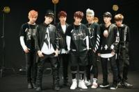 防弾少年団(BTS)のデビューシングル「NO MORE DREAM -Japanese Ver.-」のジャケット写真撮影の様子
