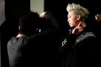 防弾少年団(BTS)のデビューシングル「NO MORE DREAM -Japanese Ver.-」のジャケット写真撮影の様子<br>RAP MONSTER(ラップモンスター)