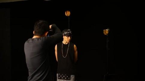 防弾少年団(BTS)のデビューシングル「NO MORE DREAM -Japanese Ver.-」のジャケット写真撮影の様子<br>JIMIN(ジミン)