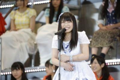 横山由依(今年6月11日選抜総選挙で撮影/写真:鈴木かずなり)