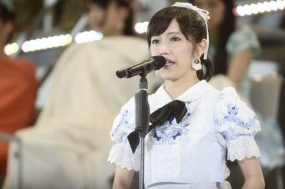 渡辺麻友(今年6月11日選抜総選挙で撮影/写真:鈴木かずなり)