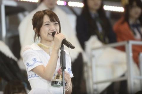 高橋みなみ(今年6月11日選抜総選挙で撮影/写真:鈴木かずなり)