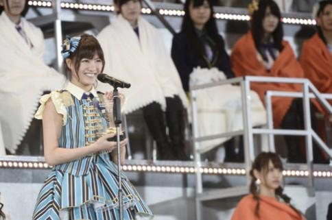 『第6回AKB48選抜総選挙』<br>12位 宮澤佐江 SNH48チームSII(SKE48 チームS兼任)<br>44,749票