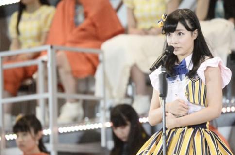 『第6回AKB48選抜総選挙』<br>15位 柴田阿弥 SKE48チーム<br>39,264票