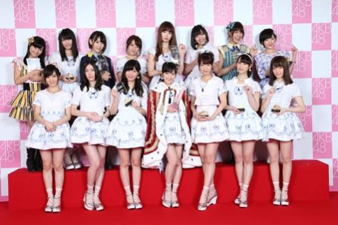 『第6回AKB48選抜総選挙』<br>選挙メンバー(1位〜16位)