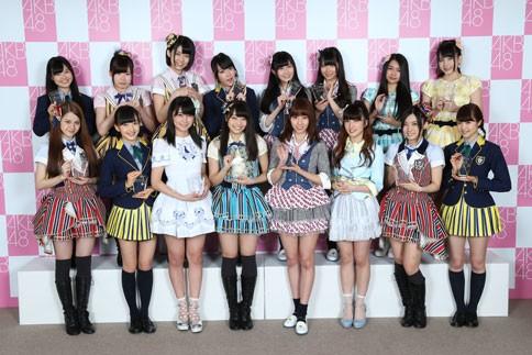 『第6回AKB48選抜総選挙』<br>ネクストガールズ(33位〜48位)