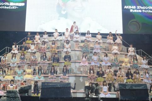 『第6回AKB48選抜総選挙』<br>1位 渡辺麻友 AKB48チームB<br>159,854票