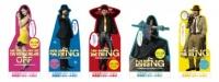 それぞれのキャラクターのイメージにあわせて劇場鑑賞マナーを指南するスタンディ<br>実写『ルパン三世』撮影現場レポート『WEB独占掲載!日本映画の枠を超越した熱気に包まれた2ヶ月』(C)2014映画「ルパン三世」製作委員会