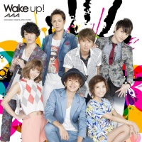 AAAのシングル「Wake up!」【CD+DVD[AAAジャケットver.]】