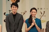 『2014上半期ブレイク俳優』で2位となった東出昌大と女優部門で2位だった杏 (C)ORICON NewS inc.