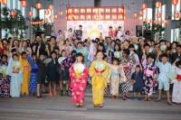 すたーふらわー「日本一高いあべのハルカス盆踊り」