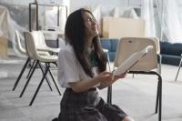 土屋太鳳 映画『人狼ゲーム ビーストサイド』インタビュー(C)2014「人狼ゲーム BEAST SIDE」製作委員会