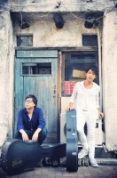 サスケ(左から奥山裕次、北清水雄太)