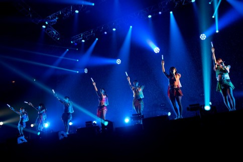 『@JAM EXPO 2014』に出演した<br>アップアップガールズ(仮)