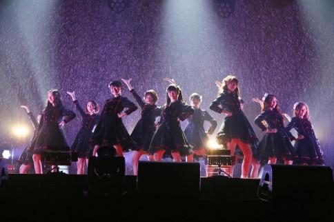 『@JAM EXPO 2014』に出演した<br>JKT48