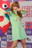 「ファッションリーダーランキング2014」で1位となったきゃりーぱみゅぱみゅ (C)ORICON NewS inc.