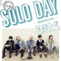B1A4のシングル「SOLO DAY-Japanese ver.-」【初回限定盤B】