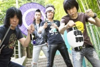 ザ・クロマニヨンズの左から、桐田勝治、小林勝、真島昌利、甲本ヒロト