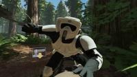 アーケードゲーム『スターウォーズ バトルポッド』の筐体 STAR WARS(C) & TM 2014 Lucasfilm Ltd. All rights reserved.