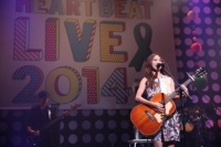 『Green Ribbon HEART BEAT LIVE 2014 with MTV』出演の(Rihwa
