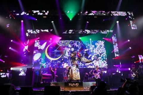a-nation singaporeでパフォーマンスする和楽器バンド