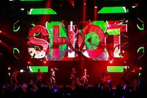 a-nation singaporeでパフォーマンスするGENERATIONS from EXILE TRIBE