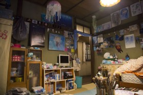 月海の部屋は…