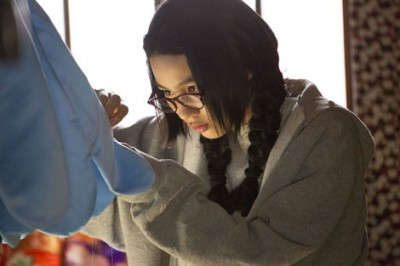 実生活の能年も裁縫が大好き。『海月姫』撮影の合間に手芸を楽しんでいた