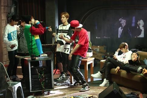 防弾少年団  MV撮影オフショット