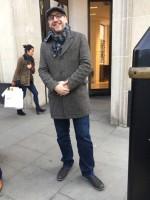 ロンドン在住のアポさん。会話もスマートだ