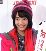 『JR SKISKIキャンペーン』新CM記者発表会に出席
