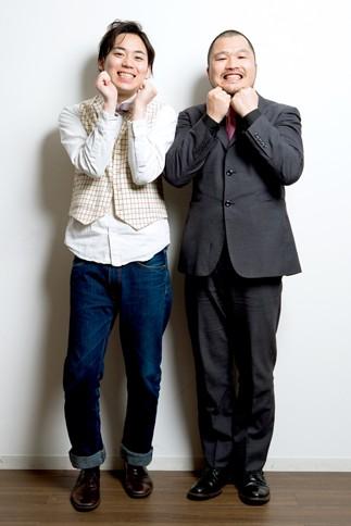 クマムシ(左から)佐藤大樹、長谷川俊輔
