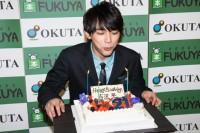 21歳のバースデーケーキ