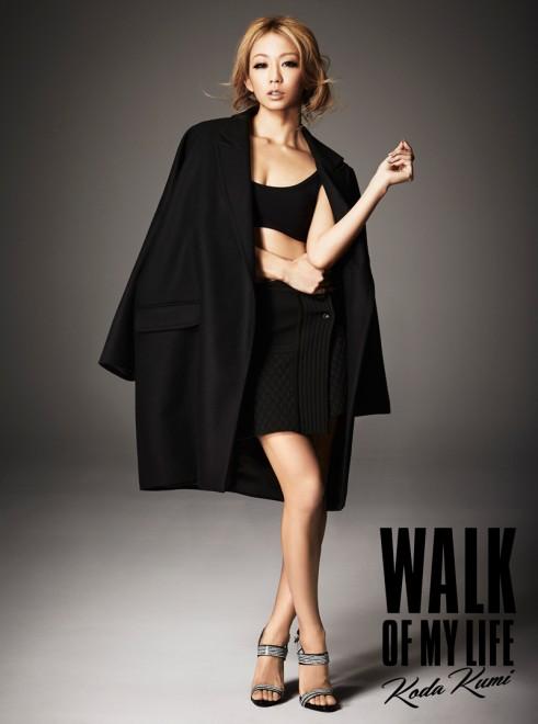 倖田來未のアルバム『WALK OF MY LIFE』【CD+Blu-ray】