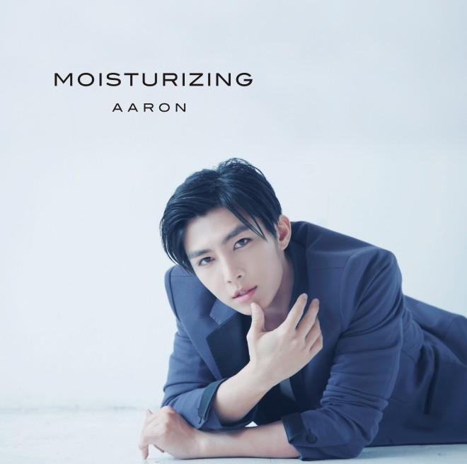 AARON(アーロン/炎亞綸)のシングル「MOISTURIZING」【初回盤CD+DVD】