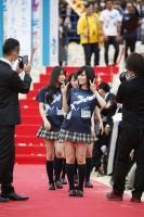 恒例のオープニングセレモニー レッドカーペットが宜野湾コンベンションセンターにて開催された。