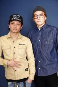 INKTのKOKI(Vo)とKei(G)[撮り下ろし写真:ウチダアキヤ]