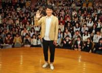 上智大学内で開催された留学応援トークイベント[2015年4月21日] (C)ORICON NewS inc.