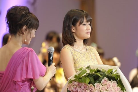 『第4回AKB48選抜総選挙』開票イベントの模様(撮影:鈴木かずなり)