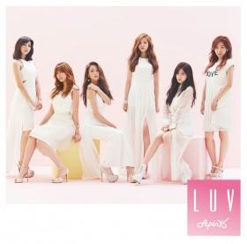 Apinkのシングル「LUV -Japanese Ver.-」【初回生産限定盤B】