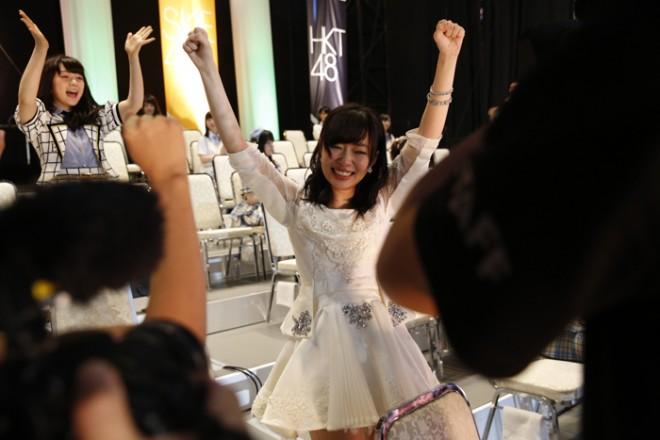 第1位 指原莉乃(HKT48チームH)194,049票
