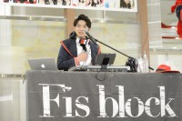 『ORICON POWER PUSH LIVE Vol.4』に出演したFis block