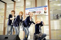 『ORICON POWER PUSH LIVE Vol.4』に出演したブレイク☆スルー