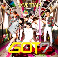 GOT7のアルバム『LOVE TRAIN』【初回生産限定盤A】