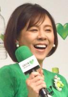 高橋真麻=サントリー『GREEN DA・KA・RA』新商品説明会&新CM発表会 (C)ORICON NewS inc.