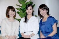 (左から)松丸友紀アナ、大江麻理子アナ、大橋未歩アナ(C)ORICON DD inc.