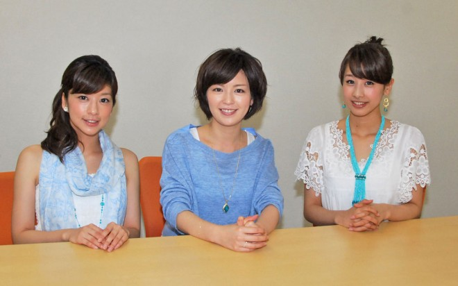 Early Morning(左より生野陽子、中野美奈子、加藤綾子)(C)oricon ME inc.