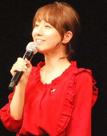 『RED RIBBON LIVE 2012』で司会を務めたTBS田中みな実アナウンサー (C)ORICON NewS inc.