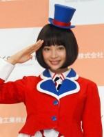 『コクーンシティ開業&新CM発表会』に出席した広瀬すず(C)ORICON NewS inc.
