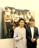 (左から)EXOのスホ、SHINeeのオンユ